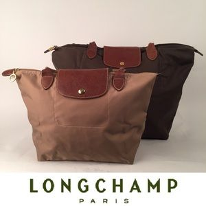 LONGCHAMP LE PLIAGE TOTE BAGS 2 (Md & Lg)
